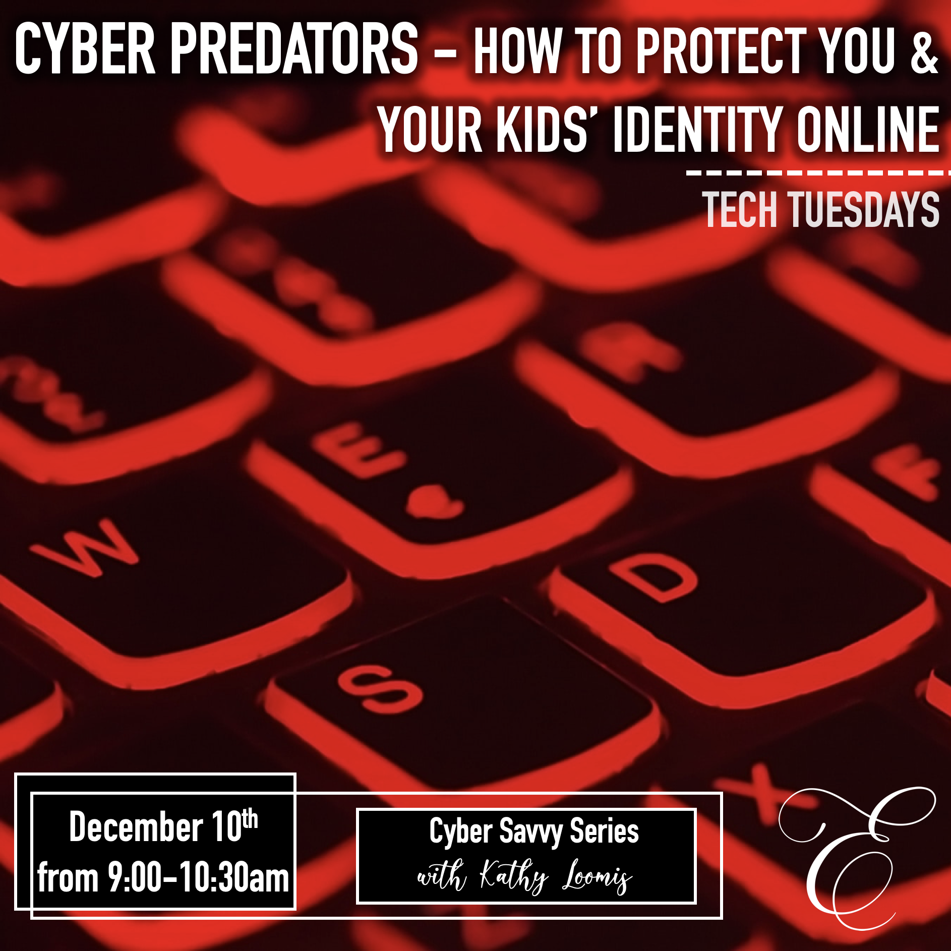 Cyber Savvy Part 4: Cyber Predators - How to Protect You & Your Kids' Identity Online