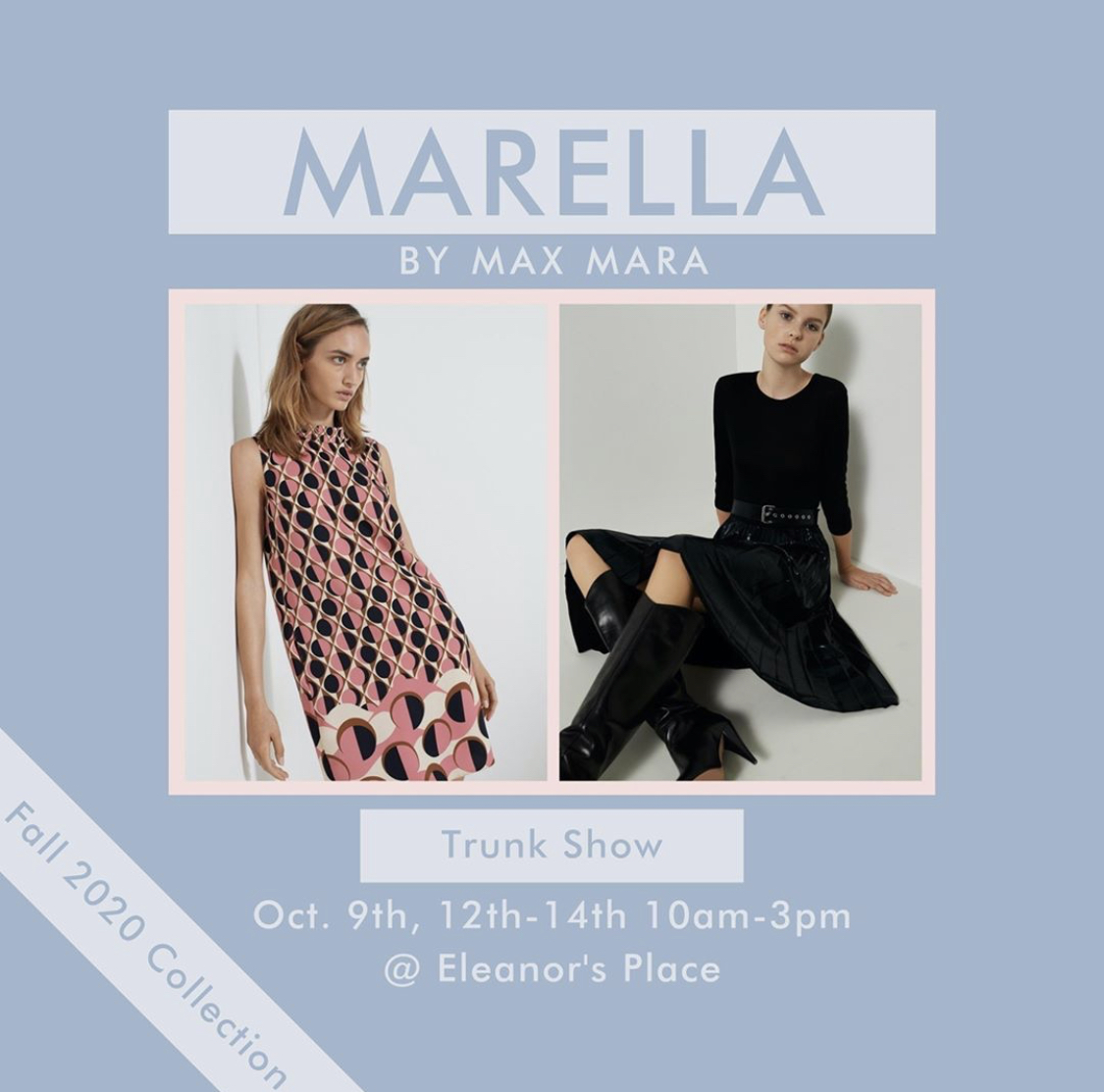 Marella by MaxMara Fall 2020 Collection Trunk Show