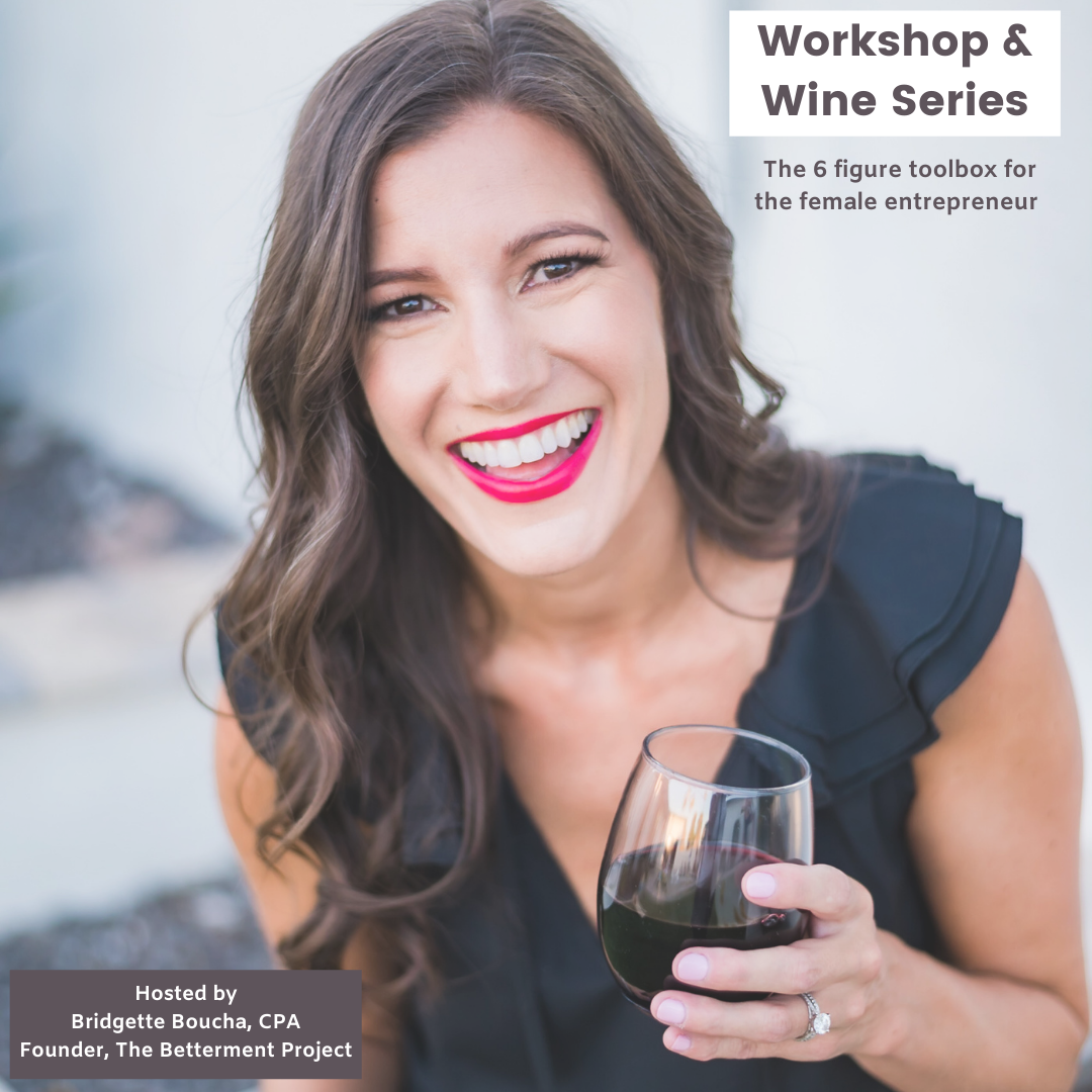 Workshop & Wine: Developing Your 60 Day Plan