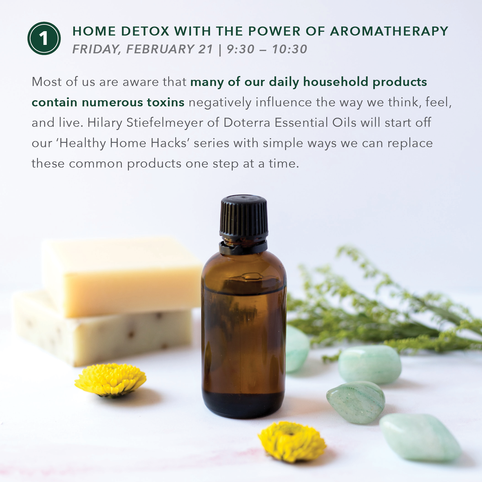 Healthy Home Hacks Part 1: Home Detox with the Power of Aromatherapy